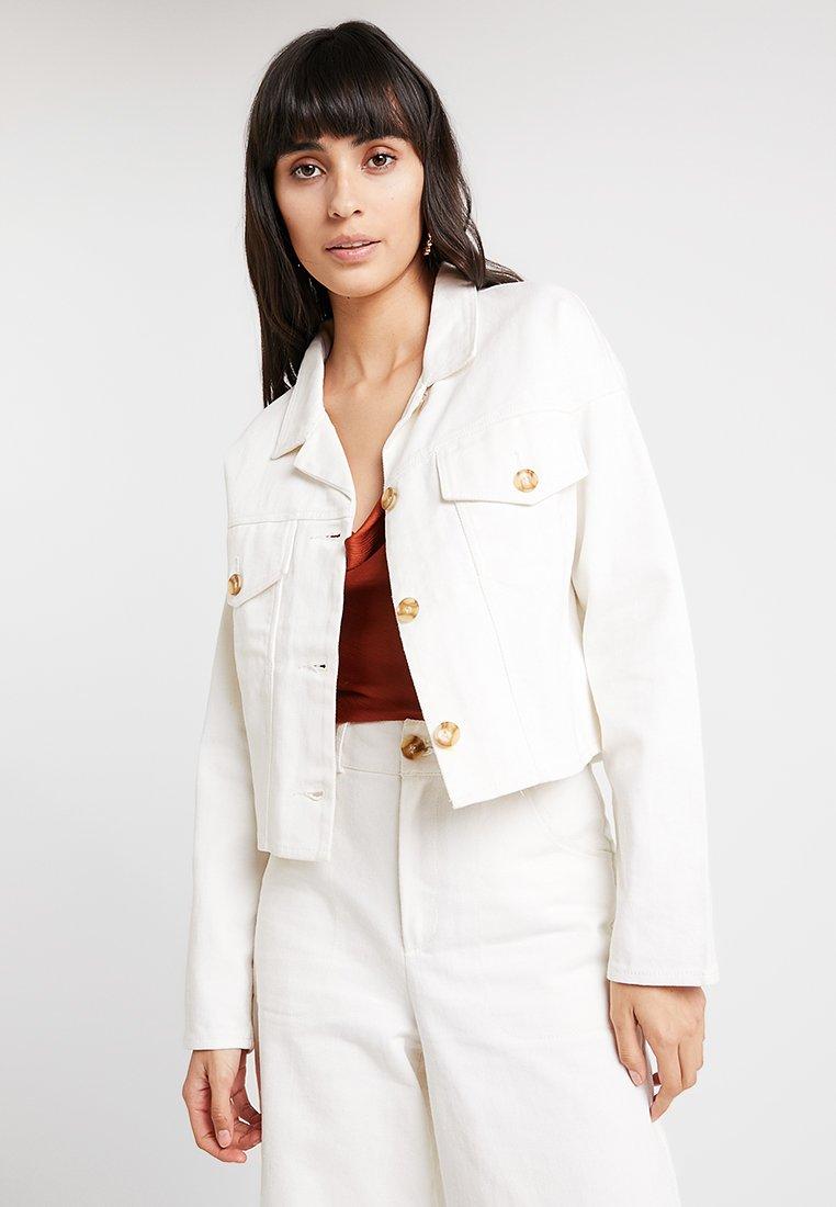 Aéryne - COSETTE JACKET - Veste en jean - blanc