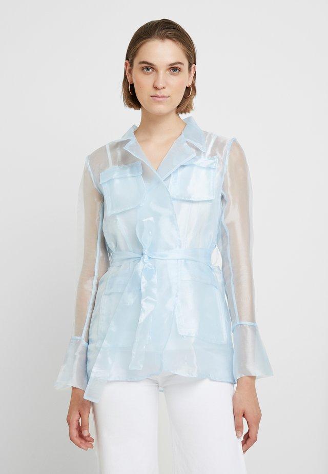 OSTRICH JACKET - Summer jacket - aqua