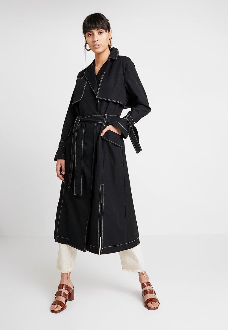 Aéryne - LUCILLE COAT - Trenchcoats - noir
