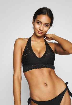 SOFTEST HALTER - Brassière - true black
