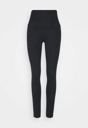 CHILL BASIC HIGH RISE - Leggings - true black