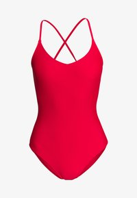 aerie - ONE PIECE STRAPPY BACK BASIC SOLID - Badpak - chilly red - 4