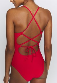 aerie - ONE PIECE STRAPPY BACK BASIC SOLID - Badpak - chilly red - 5