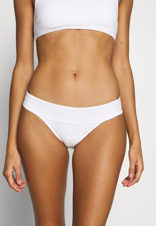 BANDED VOLLEYBALL LINED - Bikiniunderdel - white