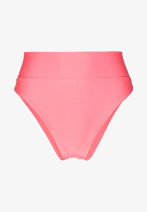 BASIC DOUBLE LINED SOLID - Bikini bottoms - coral sun