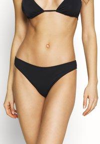 aerie - BASIC - Bikini bottoms - true black - 0