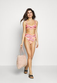 aerie - SCOOP WIDE STRAP PRINT WANJIALI - Haut de bikini - slumber party - 1