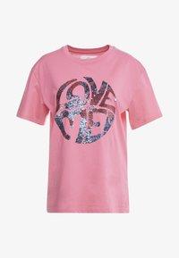 Alberta Ferretti - Print T-shirt - fucsia - 4