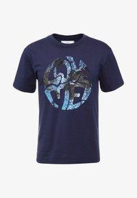 Alberta Ferretti - Print T-shirt - dark blue - 5