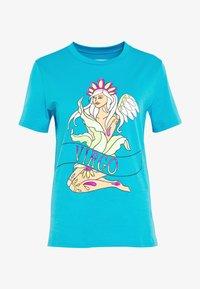 Alberta Ferretti - LEO - T-shirt z nadrukiem - blue - 4
