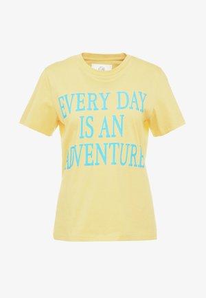 EVERYDAY - Print T-shirt - yellow