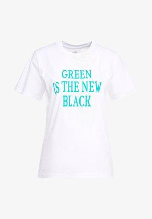 EXCLUSIVE - Print T-shirt - white