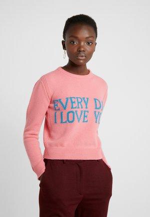 SWEATER SHORT EVERYDAY - Jumper - pink