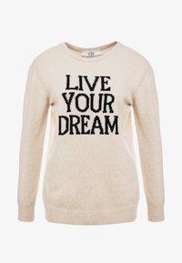 Alberta Ferretti - LIVE YOUR DREAM - Jumper - beige - 5