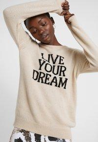 Alberta Ferretti - LIVE YOUR DREAM - Jumper - beige - 3