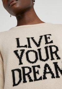 Alberta Ferretti - LIVE YOUR DREAM - Jumper - beige - 6