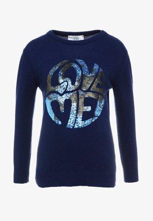 LONG LOVE ME - Sweter - blue