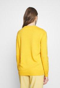 Alberta Ferretti - OVER FIT ARIES - Sweter - yellow - 2