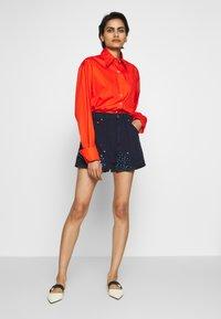 Alberta Ferretti - Denim shorts - blue - 1