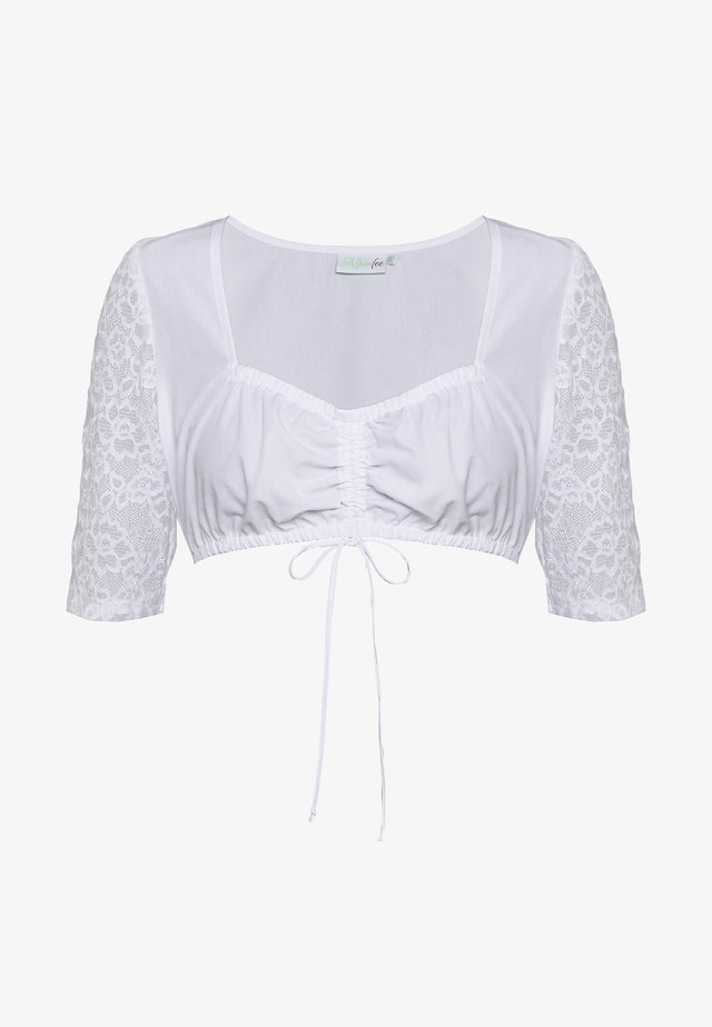 LINDA - Bluse - weiss