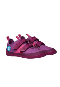 Affenzahn - BARFUSSSCHUH VOGEL - Touch-strap shoes - berry - 2