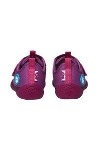 Affenzahn - BARFUSSSCHUH VOGEL - Touch-strap shoes - berry - 3