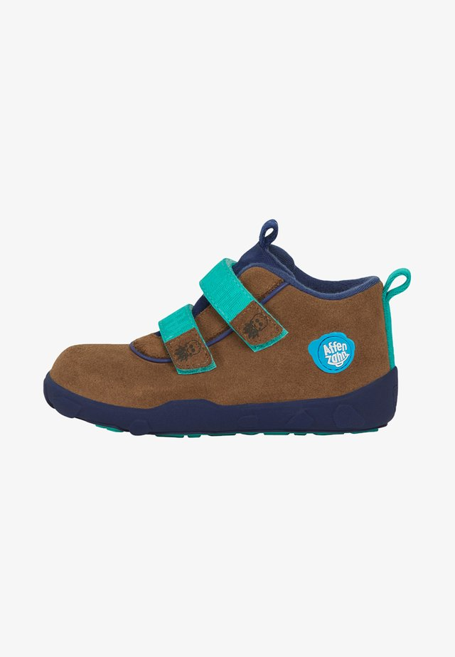 Touch-strap shoes - ocean green