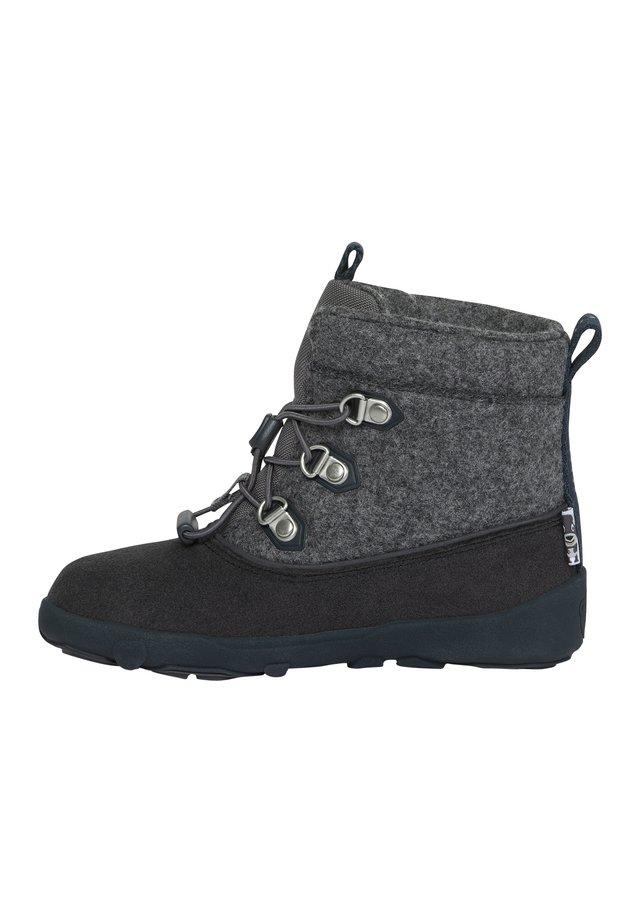 KINDERSCHUHE HUND - Winter boots - schwarz