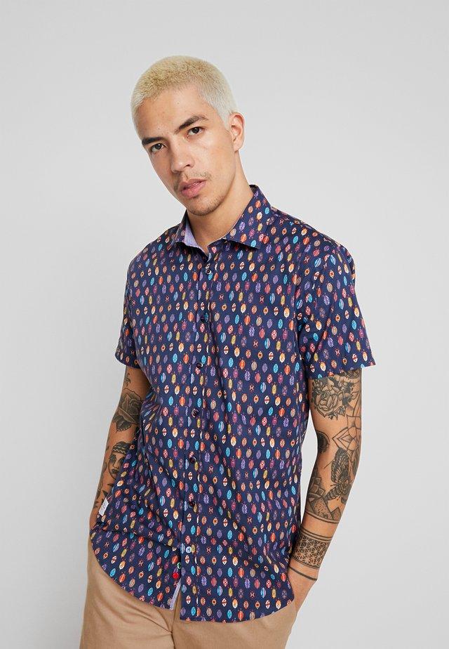 Skjorter - dunkelblau