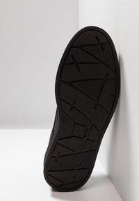 AFTERMATH - BRISTOL - Šněrovací boty - washed black - 4