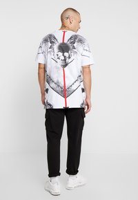 AFTERMATH - WINGSPAN TEE - T-shirt med print - white - 2