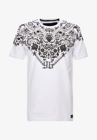 AFTERMATH - BANDANA TEE - T-shirt imprimé - white - 3