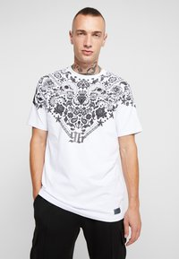AFTERMATH - BANDANA TEE - T-shirt imprimé - white - 0