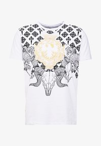 AFTERMATH - RAMSKULL - T-shirt med print - white - 3