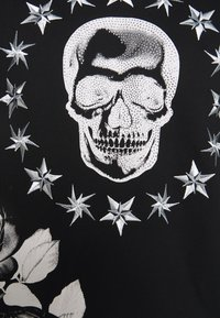 AFTERMATH - CRYSTAL STUDDED WITH SKULL AND STAR - Sweatshirt - black - 3