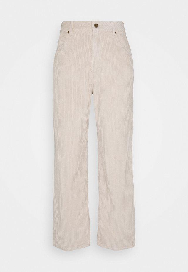 SHELBY - Pantalon classique - macadamia