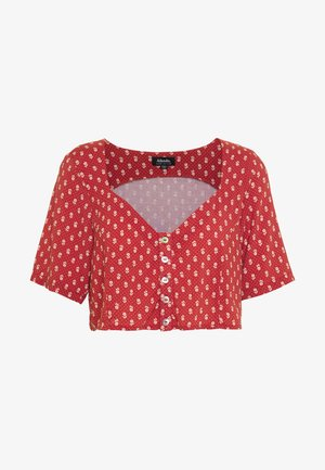 TESS - Bluse - scarlet