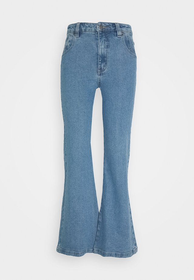 MARSHA - Jean flare - classic blue