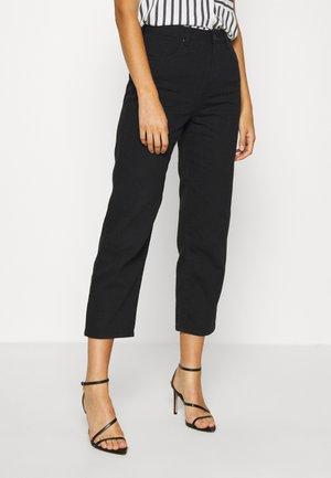 SHELBY - Straight leg jeans - black