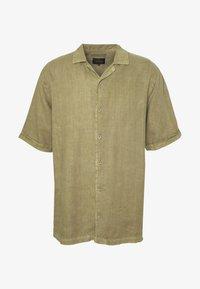 Afends - CUBAN SHORT SLEEVE SHIRT - Skjorta - covert green - 4