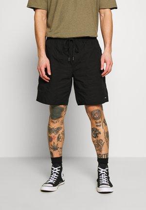 BAYWATCH CLASSICS ELASTIC WAIST BOARDSHORT - Shorts - black