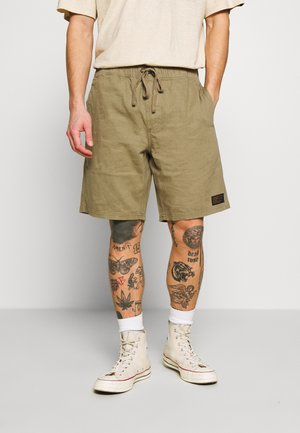 DENDYS ELASTIC WAIST - Shorts - covert green