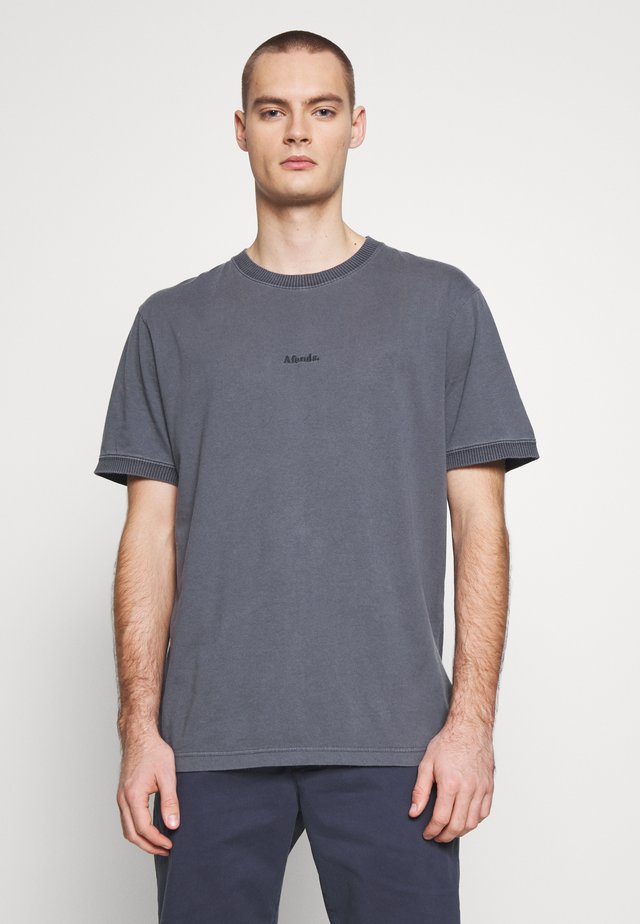 SEVENTIES RETRO FIT RINGER TEE - T-shirt basique - slate