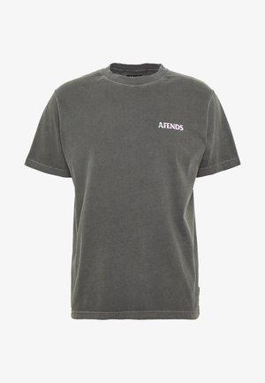 NO TOMORROW RETRO FIT TEE - T-shirt con stampa - stone black