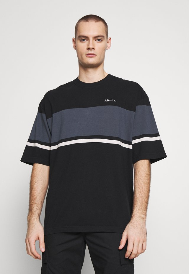 GUILLOTINE OVERSIZED TEE - T-shirt imprimé - black