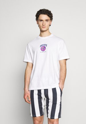 RETRO FIT TEE  - Print T-shirt - white
