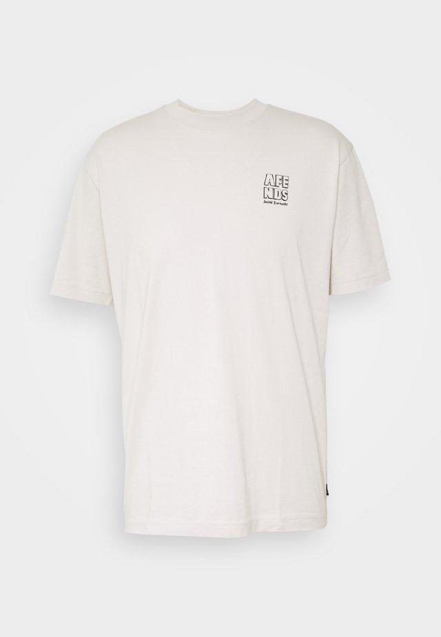 CLASS OF RETRO FIT TEE - T-shirt imprimé - moonbeam