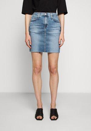 ERIN - Denimová sukně - blue