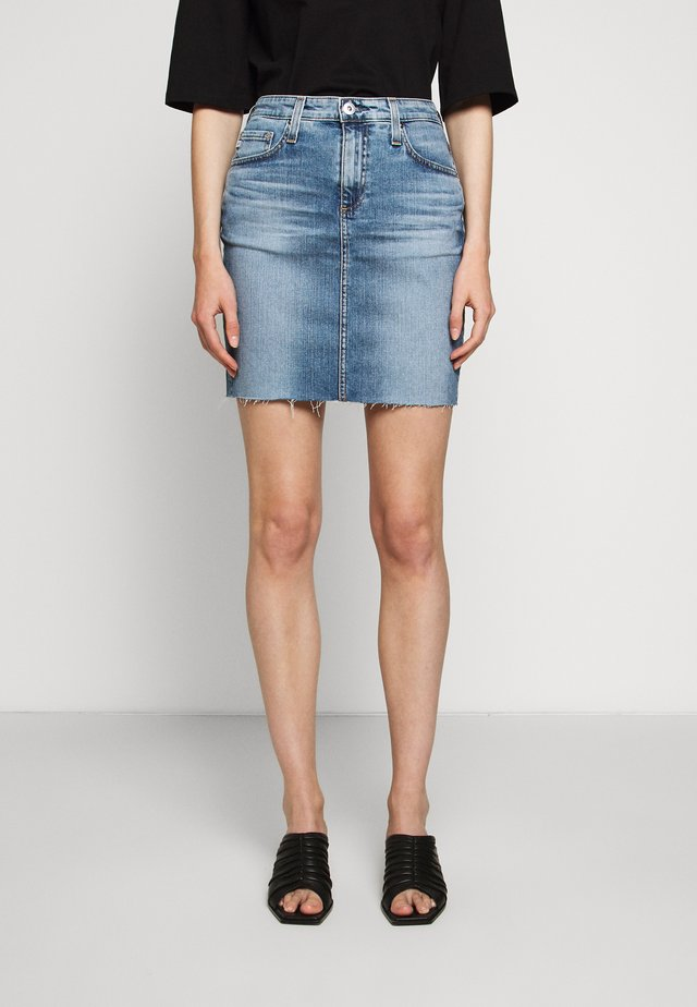 ERIN - Denim skirt - blue