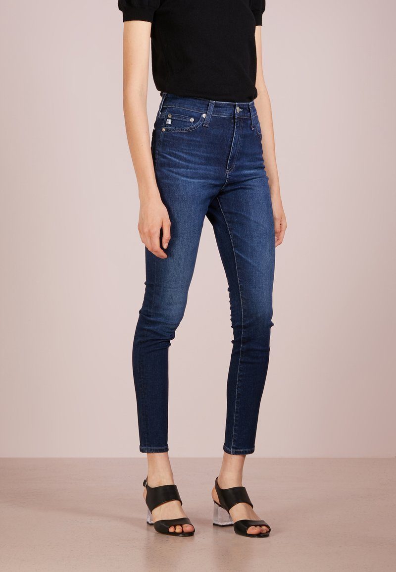 AG Jeans - MILA  ANKLE HIGHWAIST - Jeans Skinny Fit - blue denim